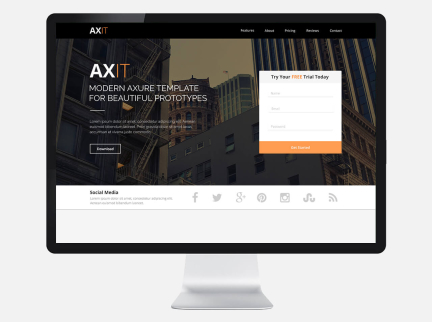 Axit – HTML5, CSS3 & Bootstrap Development